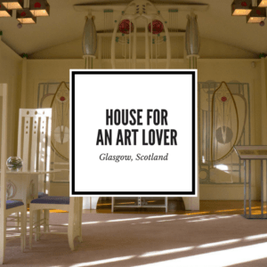 House for an art lover Glasgow Scotland