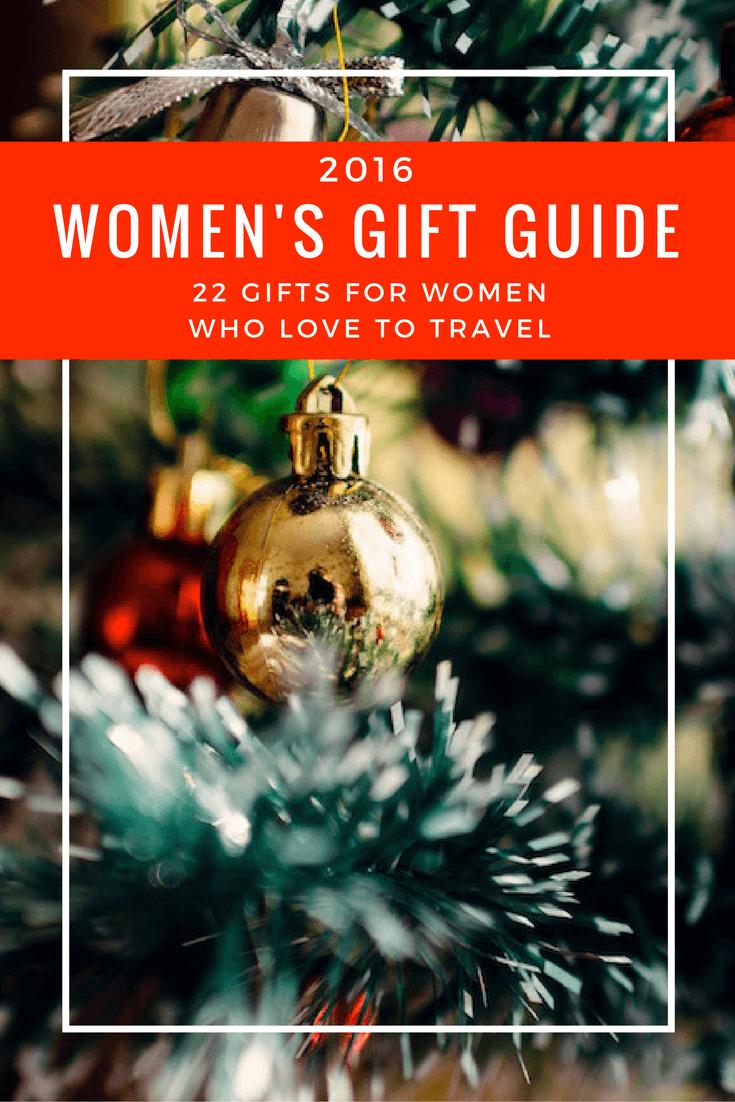 Travel Gift Guide for Women