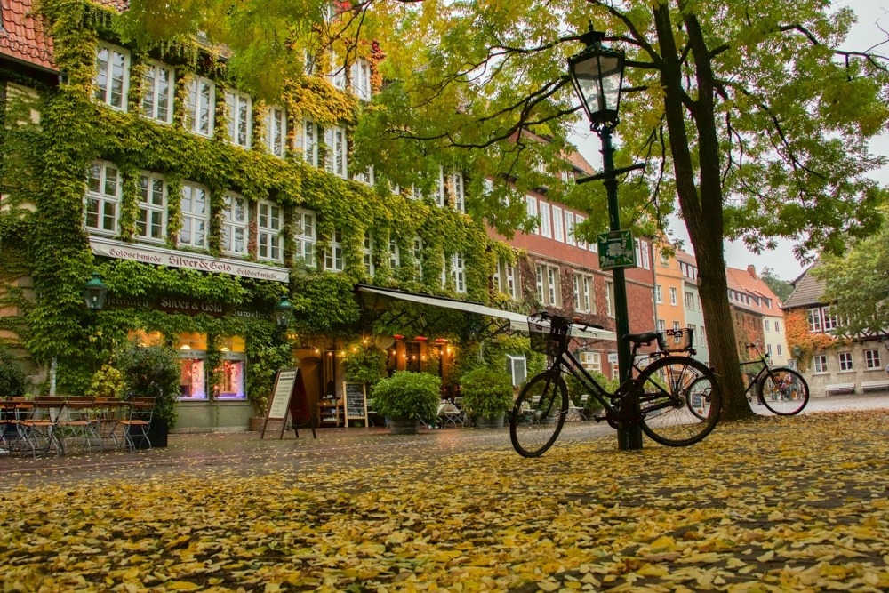 The Old Town in Hannover Germany