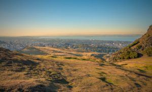 Arthur's Seat in Edinburgh is a best place in Scotland