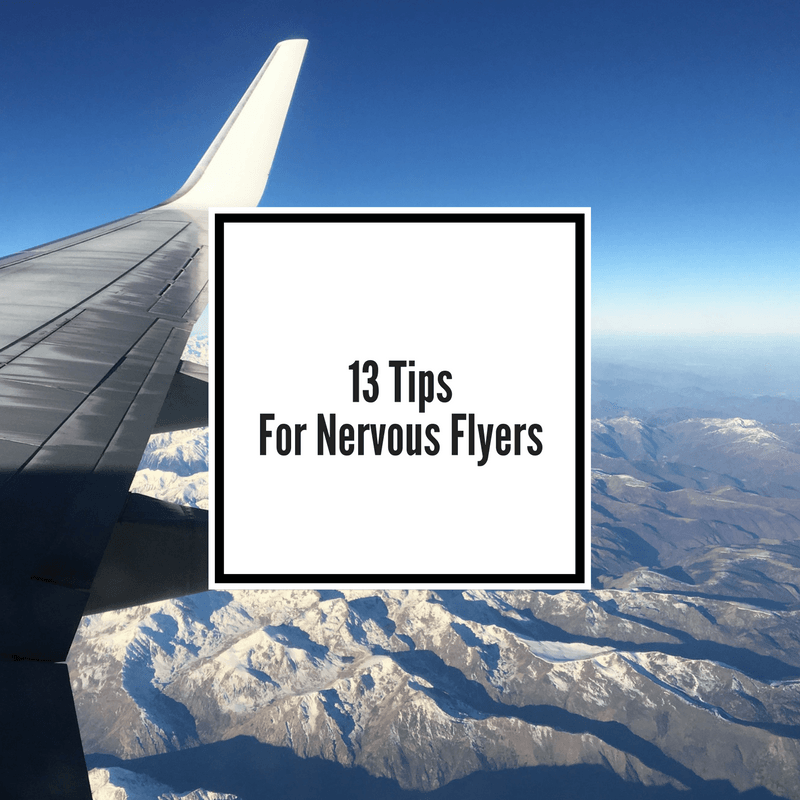 Tips for nervous flyers in flight anxiety