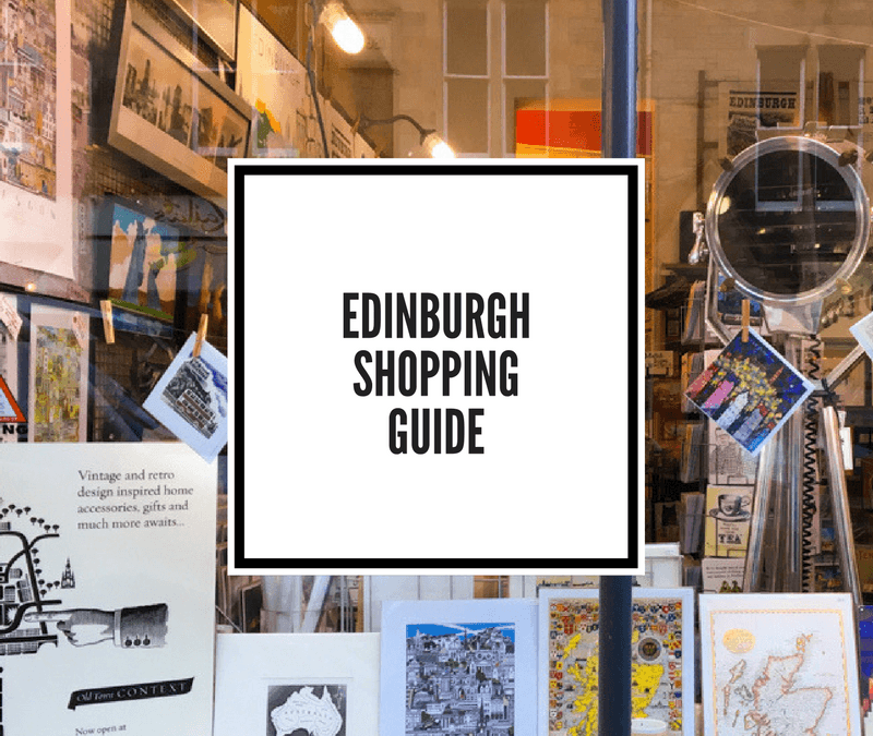 Edinburgh's Best Boutique and Indie Design Shopping (Far Away From Princes Street)