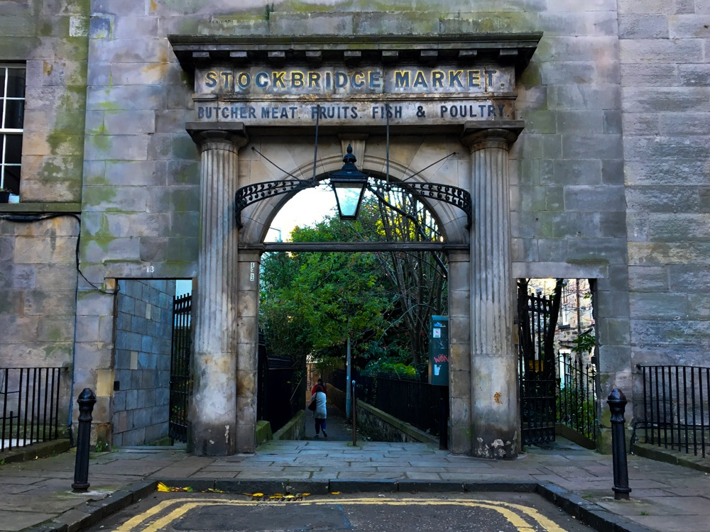 Edinburgh shopping guide stockbridge market Edinburgh