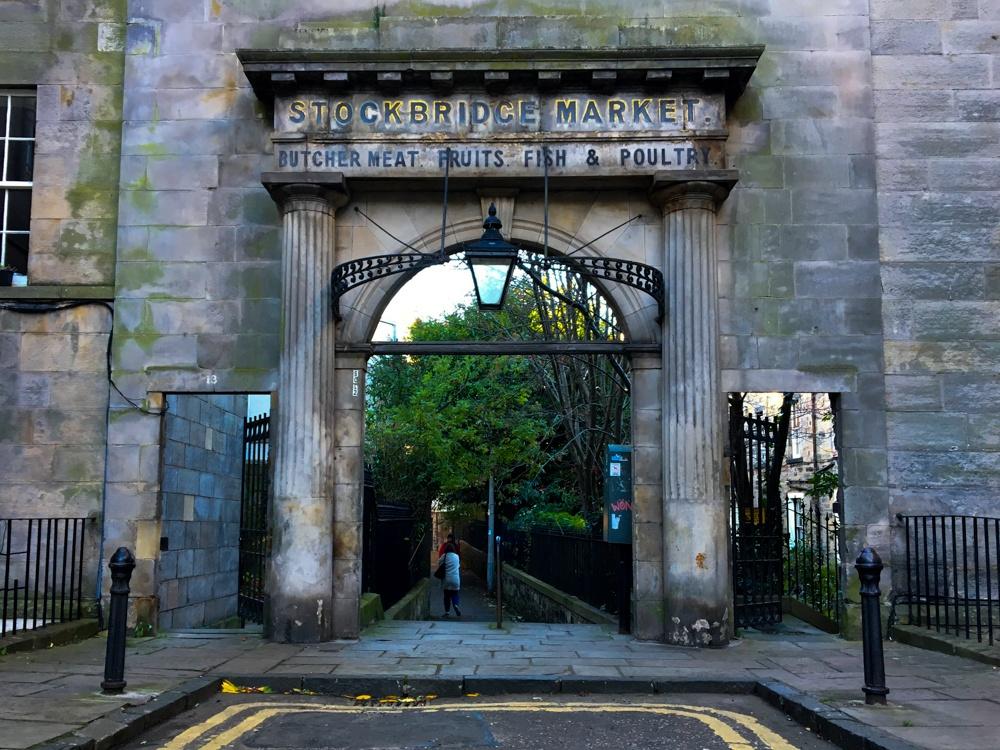Edinburgh shopping guide stockbridge market Edinburgh