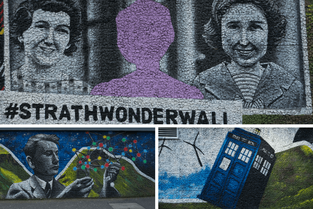 Glasgow Mural Trail Strath Wonder Wall