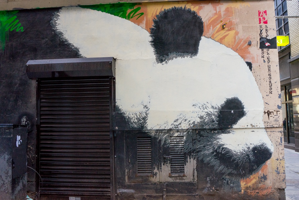glasgow mural trail glasgows panda