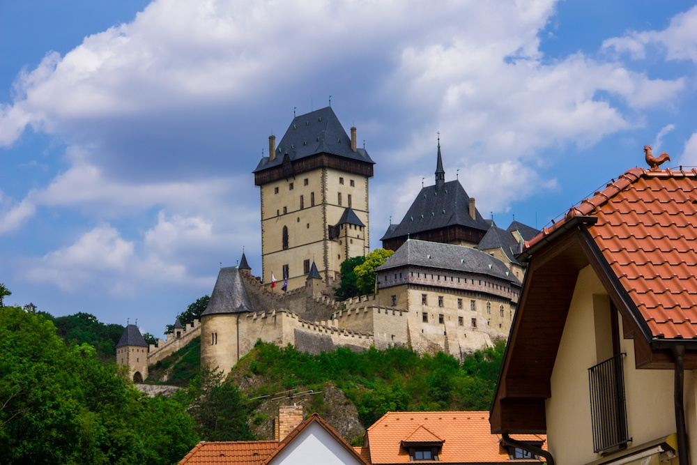 A visit to Karlstejn castle is one of the best day trip from prague