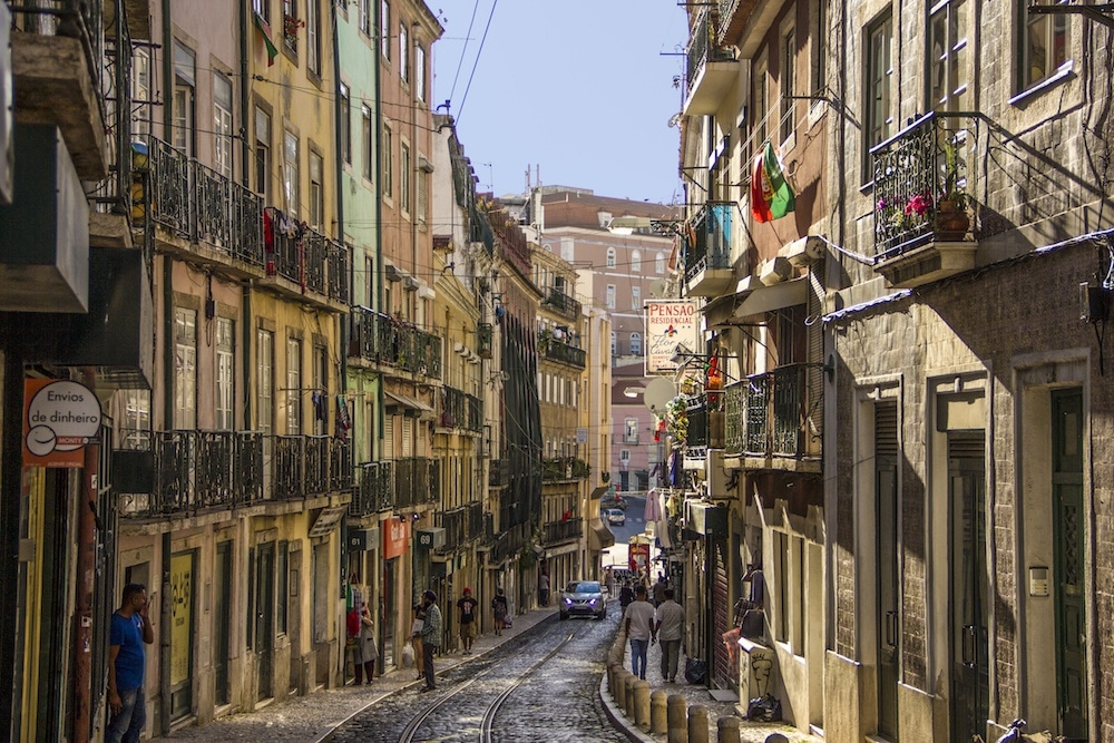 Lisbon portugal street