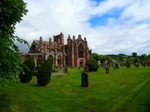 Best Places to Go in Scotland Melrose Abbey