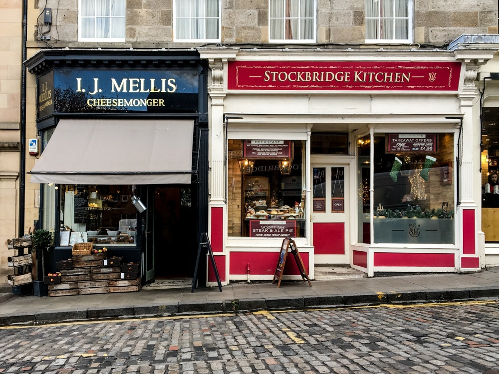 Edinburgh Shopping Guide to Stockbridge