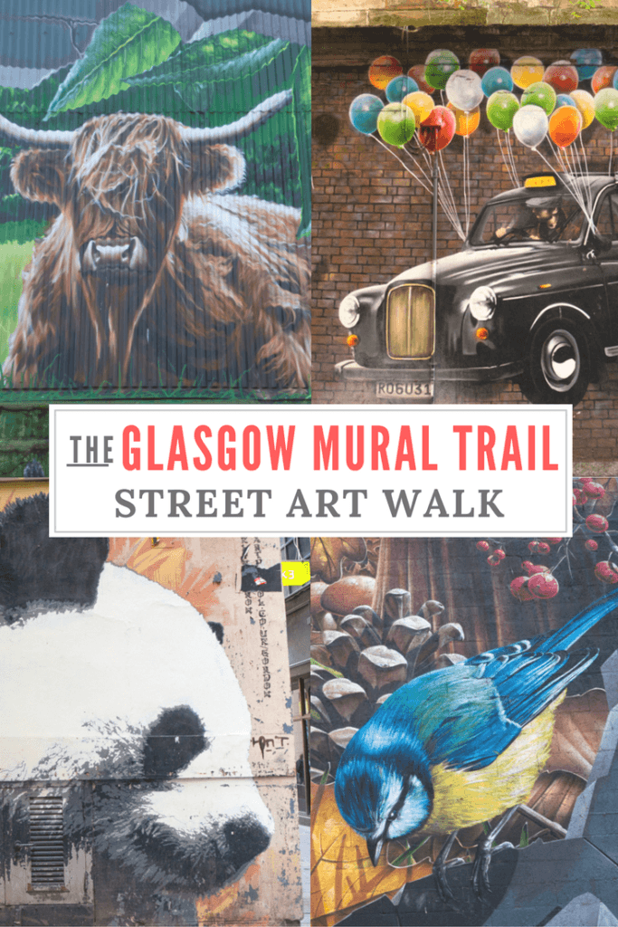 Glasgow Mural Trail Pinterest Pin