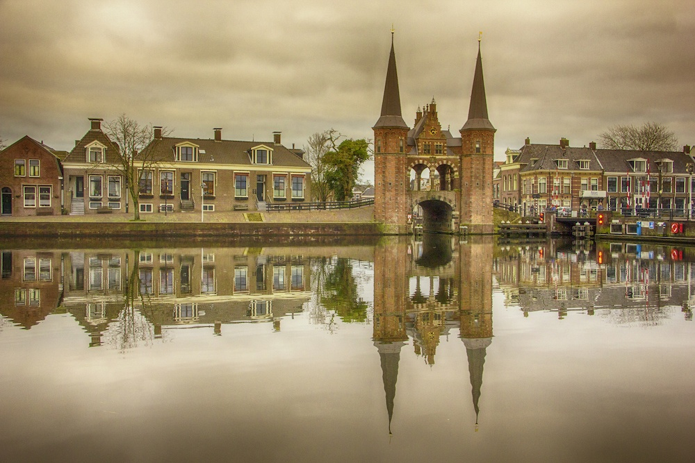 Sneek Friesland Netherlands Waterpoort