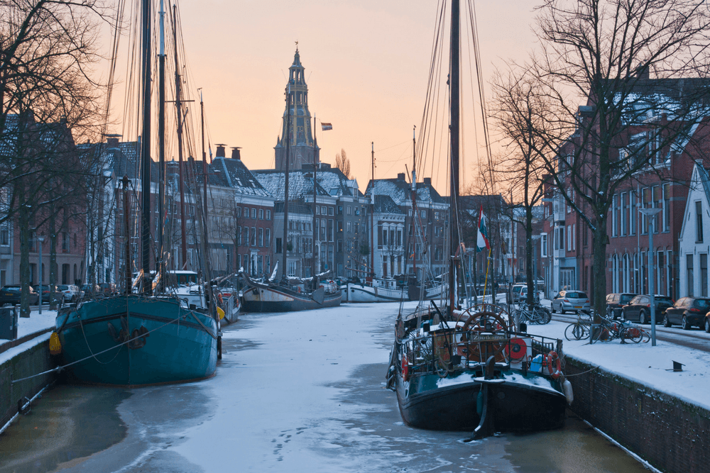 Groningen Netherlands Canal