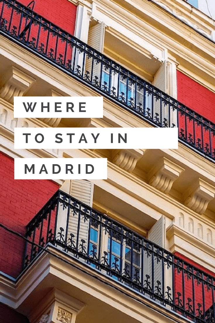 Pin this Where to Stay in Madrid guide for later