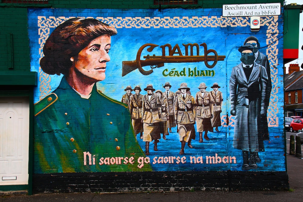 Where to Stay in Belfast Gaeltacht Quarter Murals