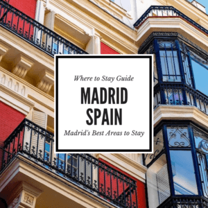 A guide to help you choose where to stay in Madrid