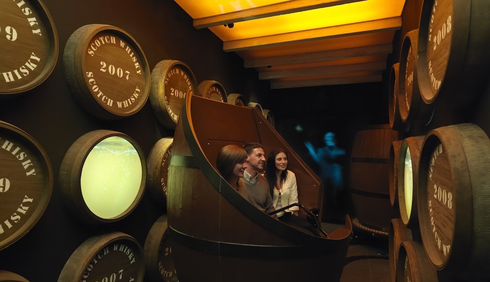 Scotch Whisky Experience Barrel Ride
