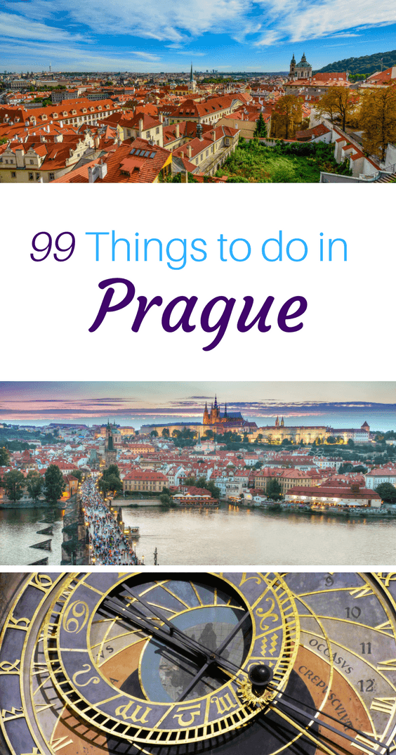 Pin this 99 Things to do in Prague Guide