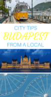 Budapest tips from a local pinterest pin