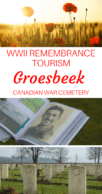 Groesbeek Canadian War Cemetery Pinterest Pin