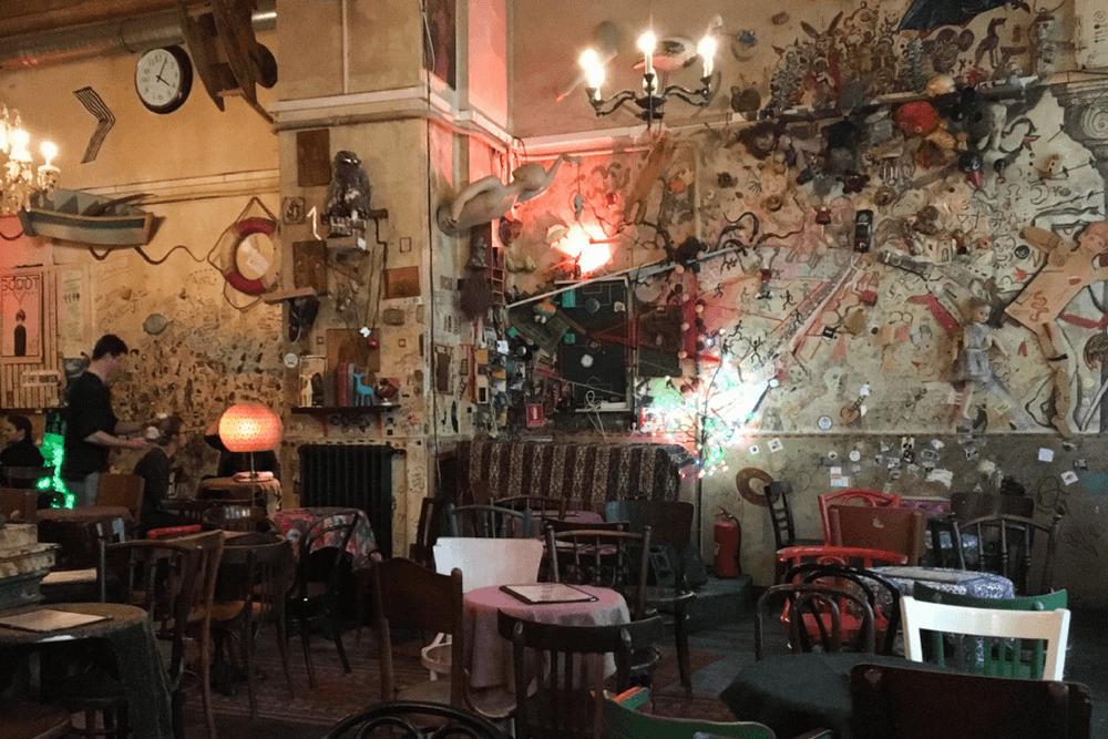 Budapest Food Tour Ruin Pub