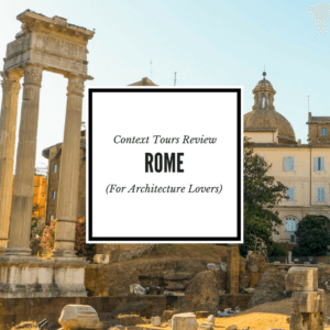 Context Travel Rome Tour Review