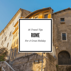 Travel Tips Rome