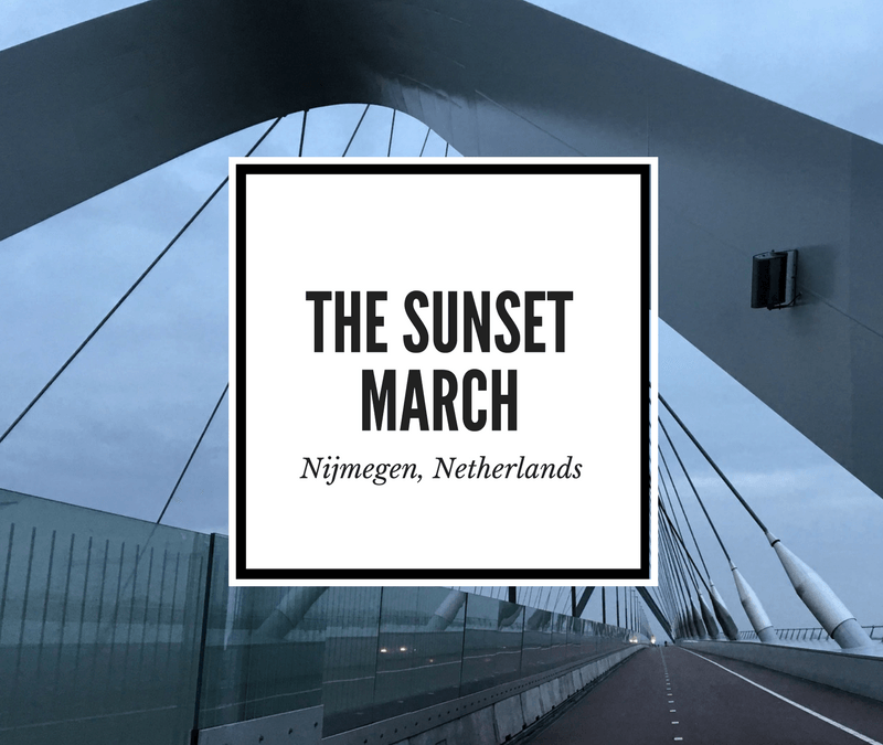 Remembrance Tourism: The Sunset March in Nijmegen, Netherlands