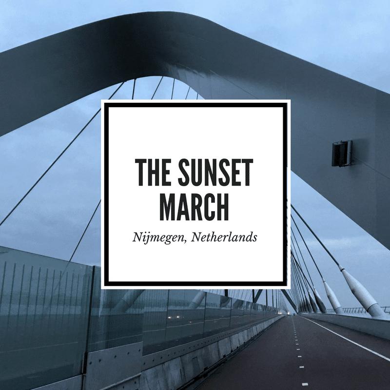 Sunset March Nijmegen Cover