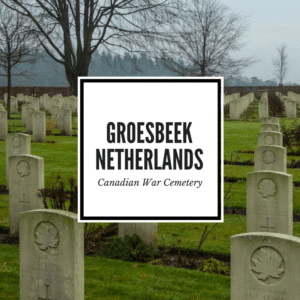 Groesbeek Canadian War Cemetery Feature Image
