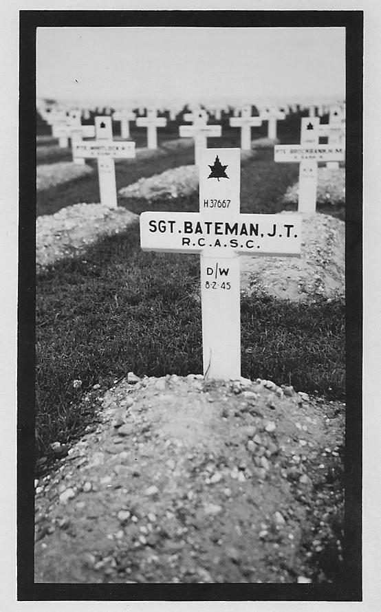 Johnny Bateman Groesbeek Canadian War Cemetery