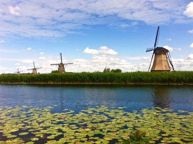 Places to Visit in Netherlands Kinderdijk