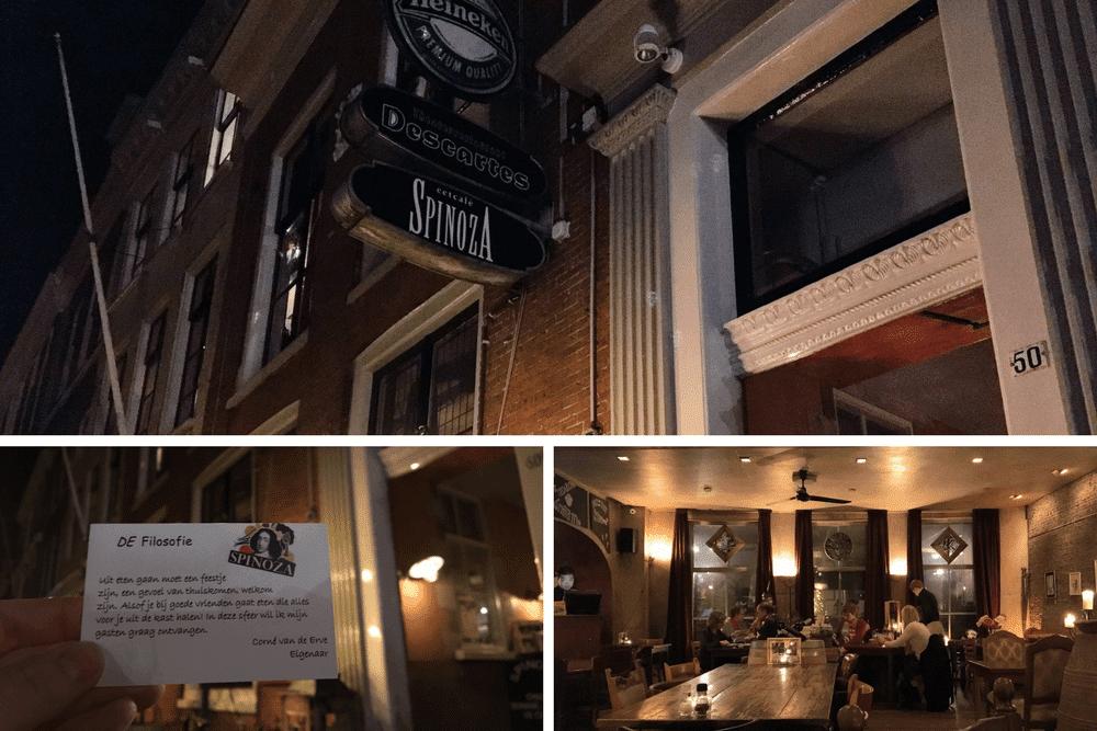 where to eat in Leeuwarden Spinoza