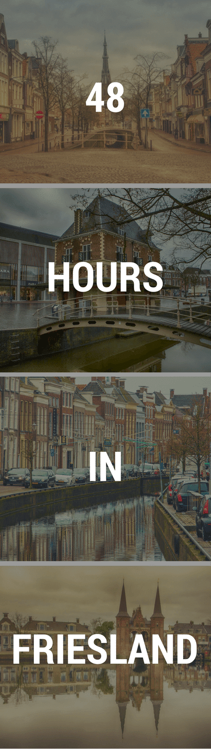 48 HOURS IN FRIESLAND PIN