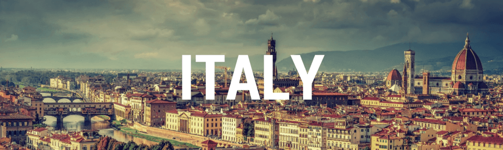 Italy Archives Header Image