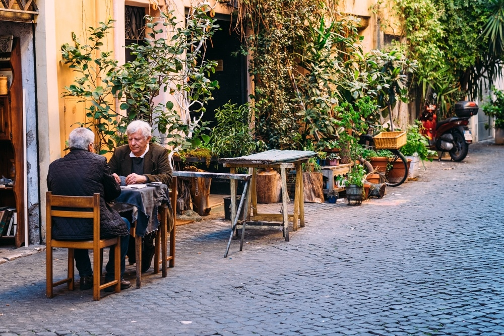 Things to do in Rome from a Local Rome Street