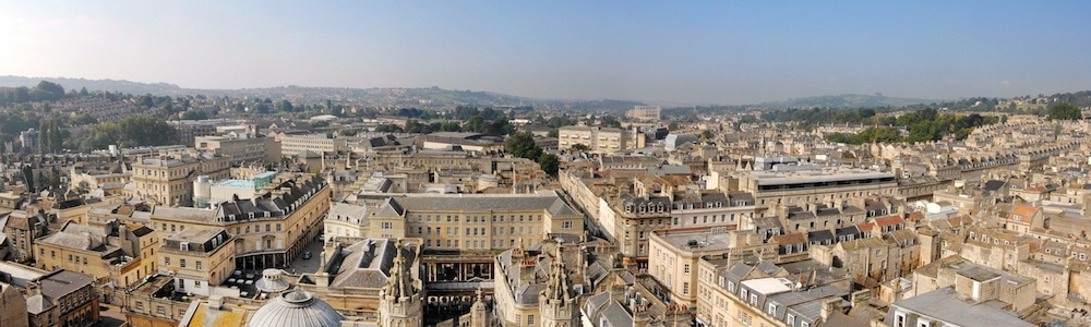 Bath England Panorama Bath City Guide