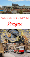 Pin this Where to Stay in Prague Guide
