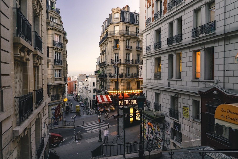 Where to stay in Paris Montmartre