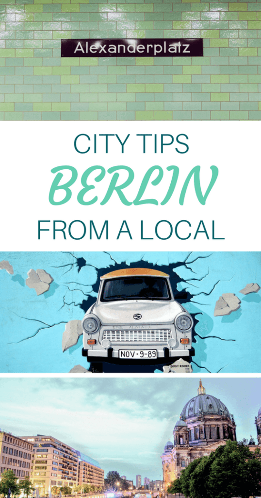 Things to do in Berlin Pinterest Pin