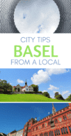 Things to do in Basel Pinterest pin