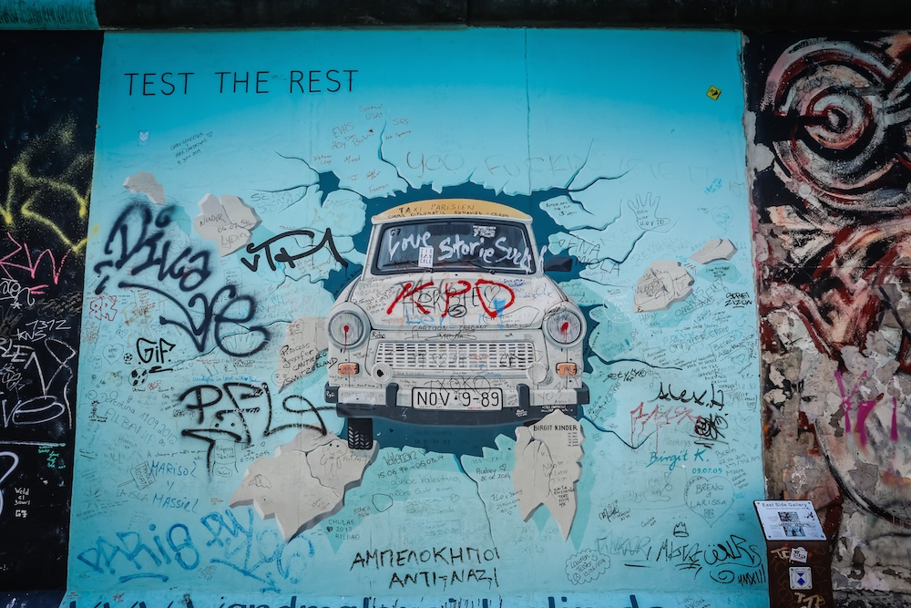 Things to do in Berlin Wall Car