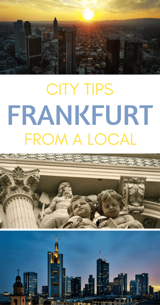 Things to do in Frankfurt Pinterest pin