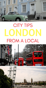 Things to do in London Pinterest pin