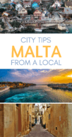 Things to do in Malta Pinterest pin