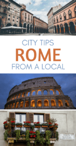 Things to do in Rome Pinterest pin
