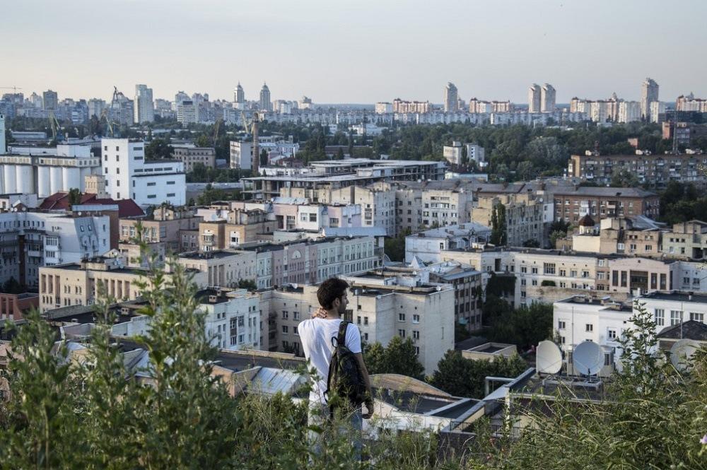 Panoramic spot in Kiev