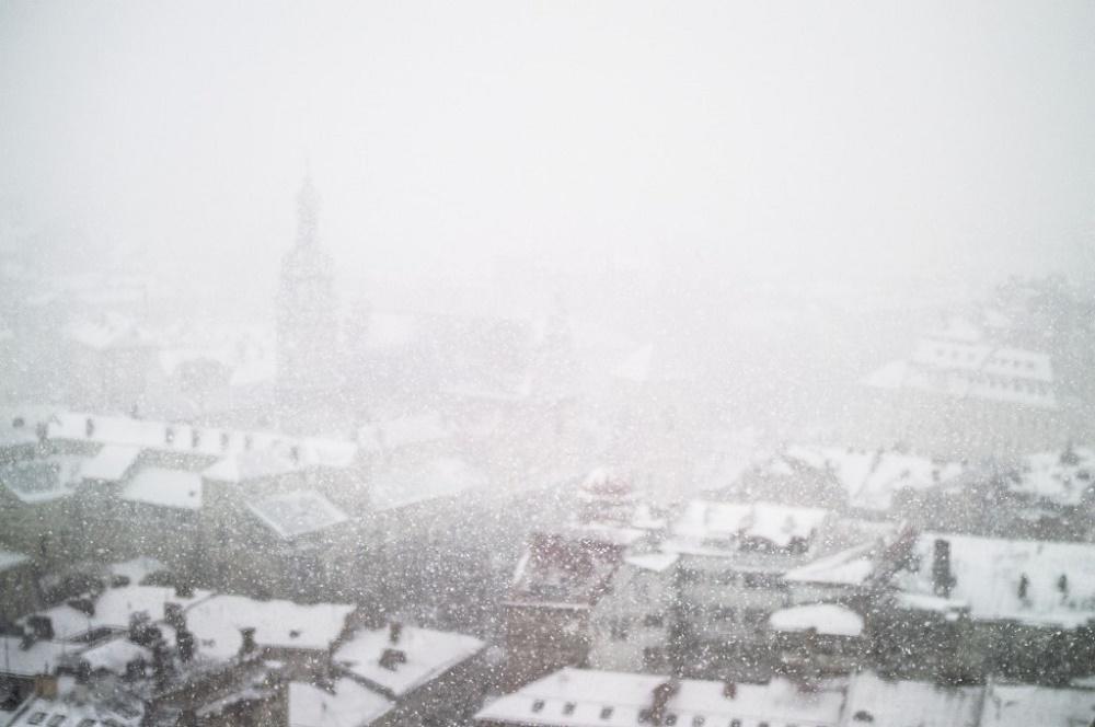 Kiev in the snow