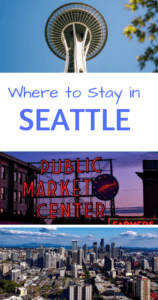 Where to Stay in Seattle Pinterest