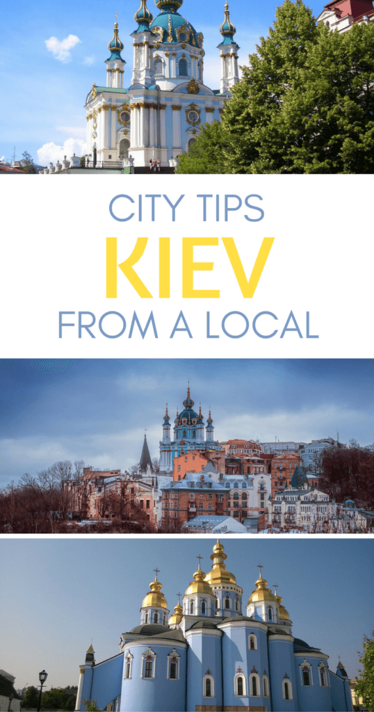 Things to do in Kiev Pinterest pin